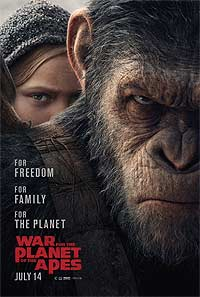 War for the Planet of the Apes (2017) Movie Poster