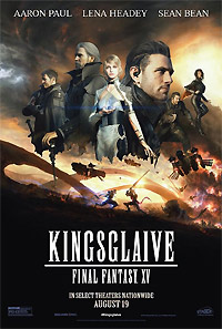 Kingsglaive: Final Fantasy XV (2016) Movie Poster