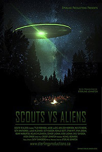 Scouts vs Aliens (2016) Movie Poster