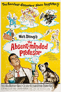 Absent Minded Professor, The (1961) Movie Poster