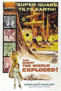 Night the World Exploded, The (1957) Movie Poster