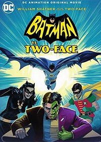Batman vs. Two-Face (2017) Movie Poster