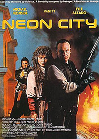 Neon City (1991) Movie Poster