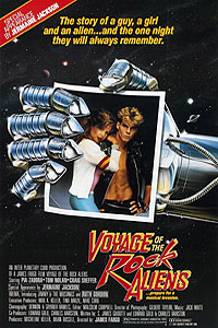 Voyage of the Rock Aliens (1984) Movie Poster