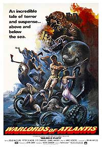 Warlords of Atlantis (1978) Movie Poster