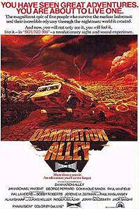 Damnation Alley (1977) Movie Poster