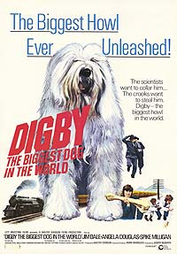 Digby, the Biggest Dog in the World (1973) Movie Poster