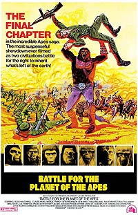 Battle for the Planet of the Apes (1973) Movie Poster