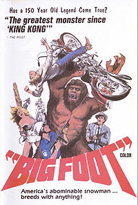 Bigfoot (1970) Movie Poster