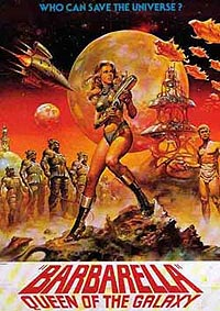 Barbarella (1968) Movie Poster