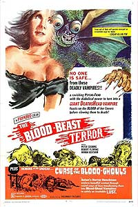 The Blood Beast Terror (1968) Movie Poster
