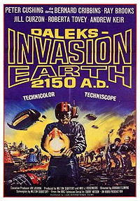 Daleks' Invasion Earth: 2150 A.D. (1966) Movie Poster