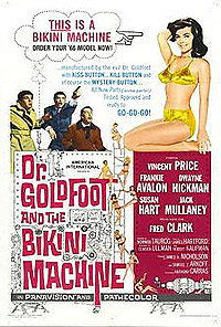 Dr. Goldfoot and the Bikini Machine (1965) Movie Poster