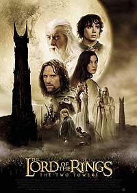 Lord of the Rings: The Two Towers, The (2002) Movie Poster