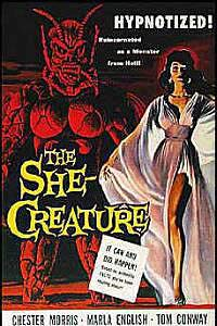 She-Creature, The (1956) Movie Poster