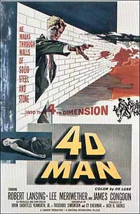 4D Man (1959) Movie Poster