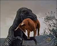 Image from: Beast of Hollow Mountain, The (1956)