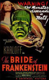 Bride of Frankenstein (1935) Movie Poster