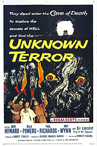 Unknown Terror, The (1957) Movie Poster